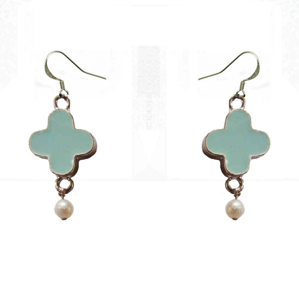 image bijou personnalisables boucles d'oreille turquoises